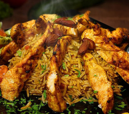 Kabsa-chicken